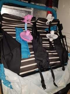 Seebaby Twin Stroller