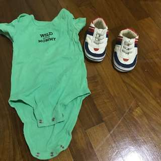 Onesy And Pram Shoes.