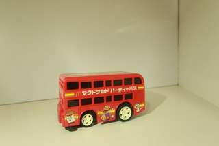 Sega McDonald's electric toy bus 1997