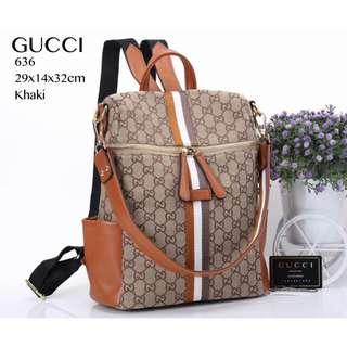 GUCCI Multyfungsi Backpack 636#A364