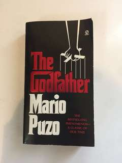 The Godfather by Mario Puzo - imported preloved