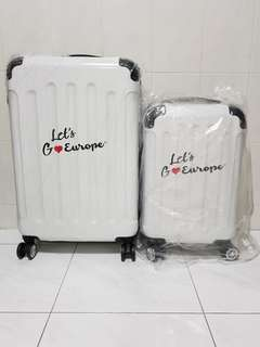 """Brand new travel luggage set 26"""" and 20"""""""