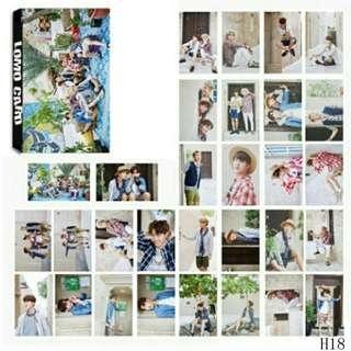 30pcs BTS Lomo Card