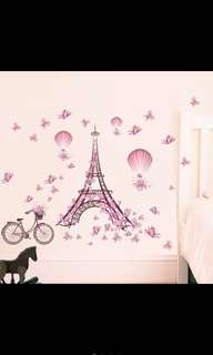 Repriced! Tower Room Wall Decor Sticker
