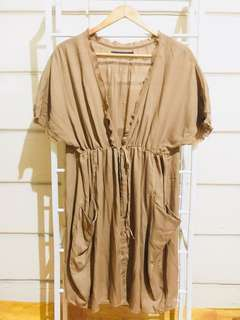 Mocha Swimsuit Cover Up