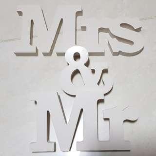 [New] Mr & Mrs (wedding)