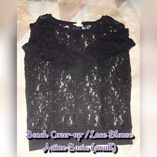 Cover Up or Lace Blouse