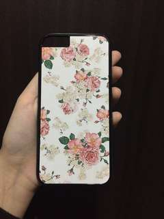 Hard Flower Case for iPhone 6/6s