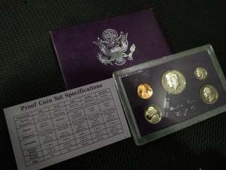 Proof Coins of United States.