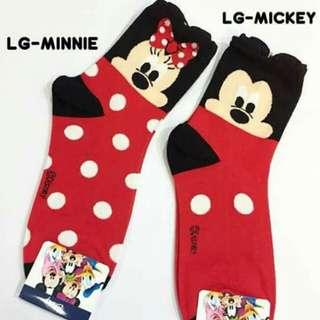 Mickey and Minnie Iconic Socks