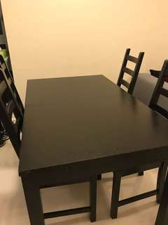 Dining table for free