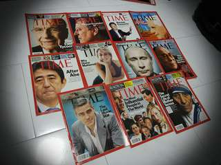 TIME Magazines - Personalities