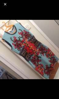Authenthic Givenchy  printed dress by Andersen Cooper