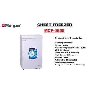 Deep freezer/chest freezer for EBM