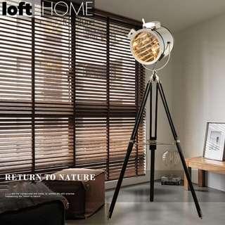 Loft Floor Lamp – Tripod