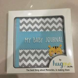 Babys journal book