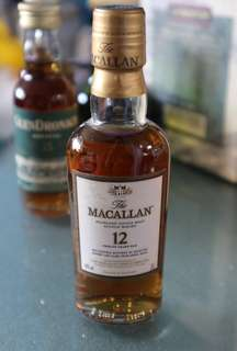 Macallan Highland Single Malt Scotch Whisky 12 years