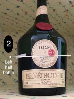 (Left 1/2) Benedictine DOM 1L