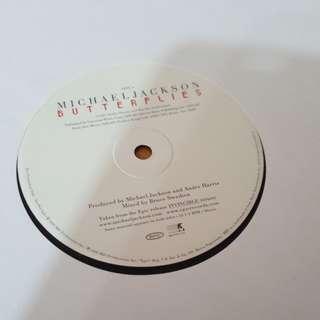 Butterflies - Micheal Jackson ( 12'Single Vinyl Record)