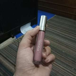 Wardah Exclusive Matte Lip Cream Shade 14 My Honey Bee