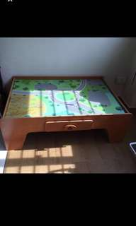 ELC activities table with drawer