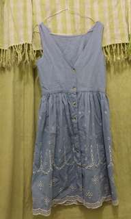 Dress Bahan Denim