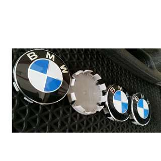 4pcs BMW wheel center rim cap 68mm