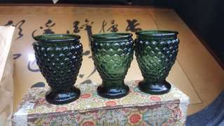 古董杯子,共五個