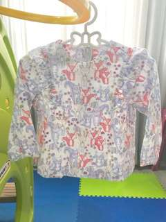 Mothercare long sleeve top