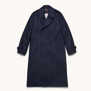 Erdem H&M Dark Blue Coat