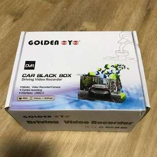 Brand New In Box Driving Video Recorder Golden Eye Brand