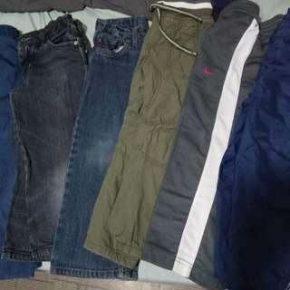 Pants and jogging pants