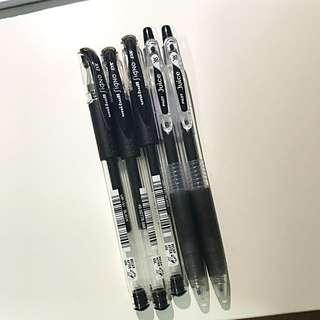 black pens!