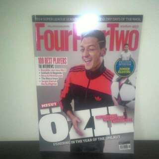 FOOTBALL FourFourTwo Jan 2014