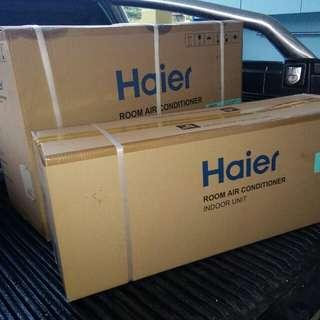 Aircond haier 1.5hp