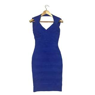 Apartment 8 Blue bandage bodycon dress
