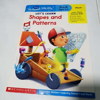 Let's learn shapes and patterns by Scholastic