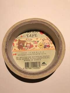 rilakkuma tape/ selotip/ plester