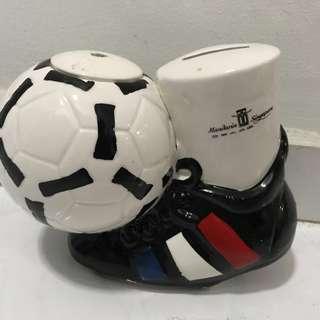 France 98 World Cup Piggy Bank / Mug