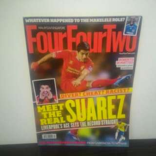 FOOTBALL FourFourTwo April 2014