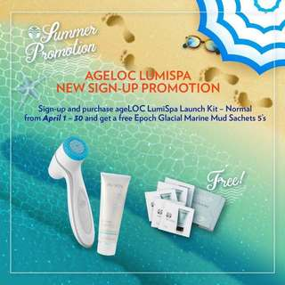 FREE FACIAL and Masks!! Nu Skin Ageloc Lumispa Kit