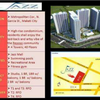 Jazz Residences SMDC rent to own Makati area