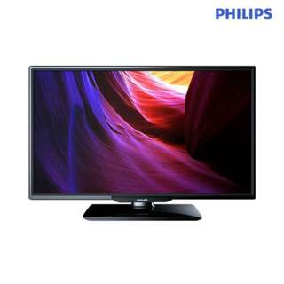 Philips 24 Inch 60cm Slim LED TV w/ Digital Crystal Clear 24PHA4100