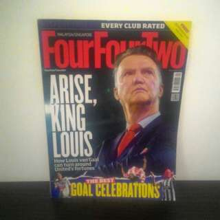 FOOTBALL FourFourTwo Sept 2014