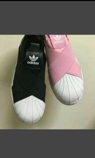 🚚 愛迪達交叉綁帶鞋 繃帶鞋 黑