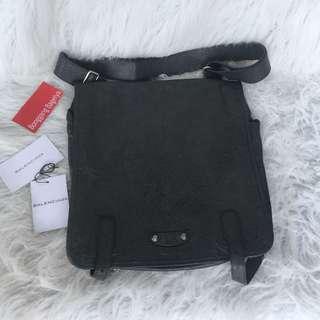 Authentic Balenciaga Distressed Messenger Bag