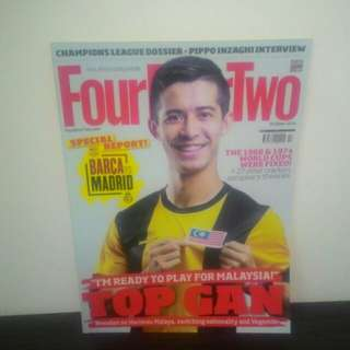 FOOTBALL FourFourTwo October 2014