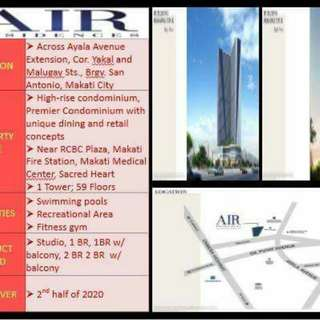 Air Residence SMDC rent to own makati