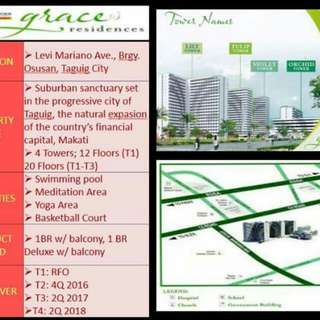 Grace Residences SMDC rent to own Taguig