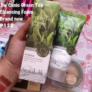 3w Clinic Green Tea Cleansing Foam